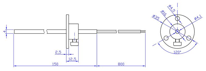 DTK1-размеры
